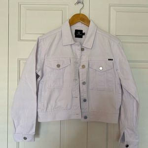 Volcom White Denim Jacket